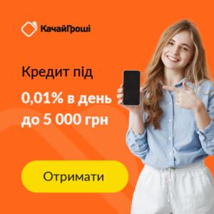 Качай гроші – кредит під 0% за декілька хвилин
